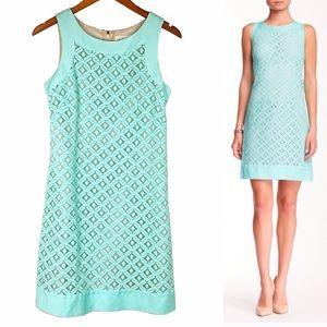 Eliza J Mint Lace Sleeveless Shift Dress 4